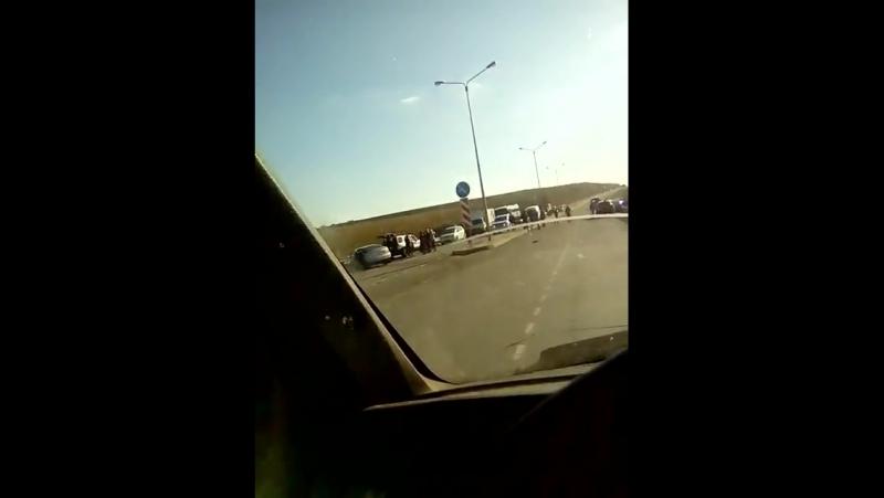 ДТП на объезной на Комсомольский