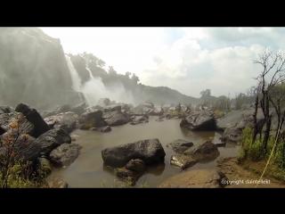 Athirappilly waterfall glorious kerala india