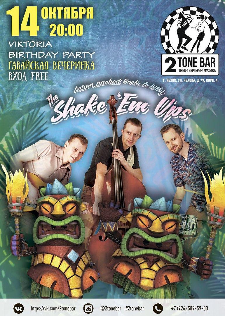 14.10 The Shake 'Em Ups в 2Tone Bar