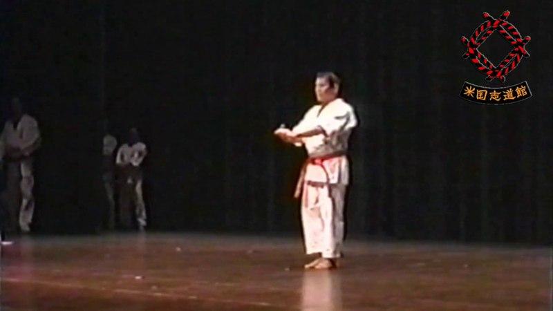 Kata Koryu Passai by sensei Takara Meiyu