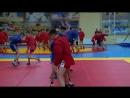 Мастер класс спортсменов военнослужащих и Главы Тувы в КПКУ