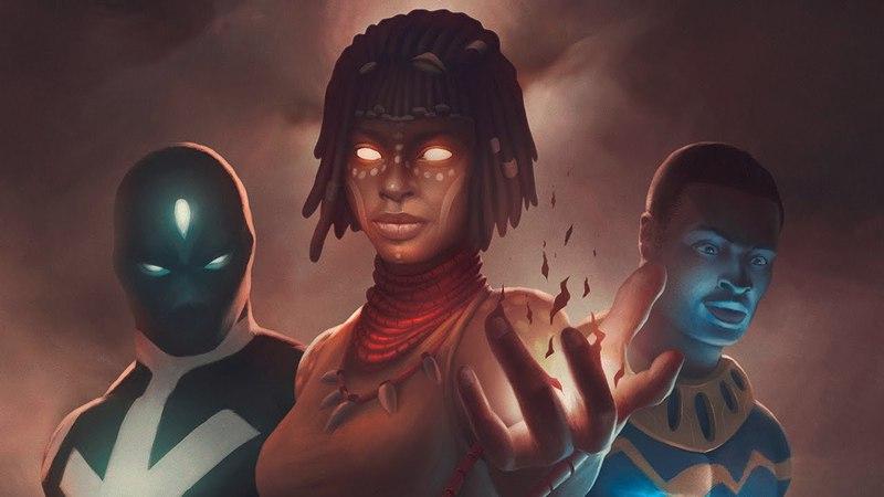 Creating CoverArt for 'Spirit Wars' - Timelapse process