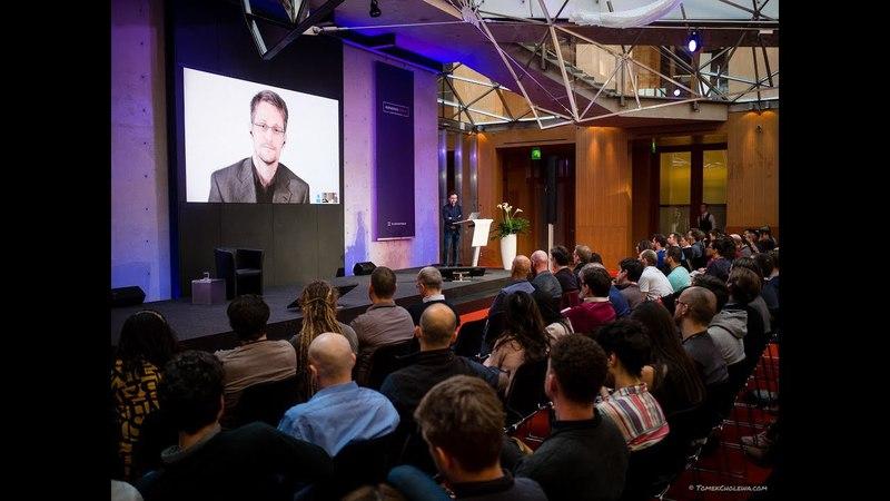 Edward Snowden Interview with Peter Van Valkenburgh of Coin Center | Blockstack Berlin 2018