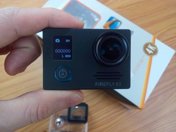 Экшн камера Firefly 6S сьемка в 4К