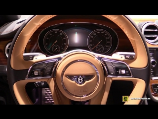 2018 Bentley Bentayga - Exterior and Interior Walkaround - 2017 Frankfurt Auto S_HD.mp4