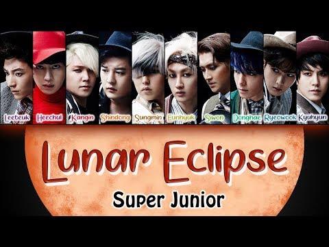 SUPER JUNIOR - Lunar Eclipse (Jpn.) - [Kan/Rom/Eng] Colour Coded lyrics