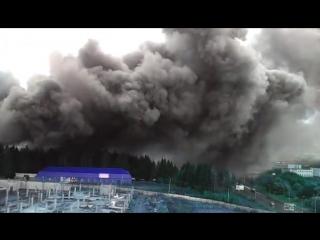 Пожар на Берша