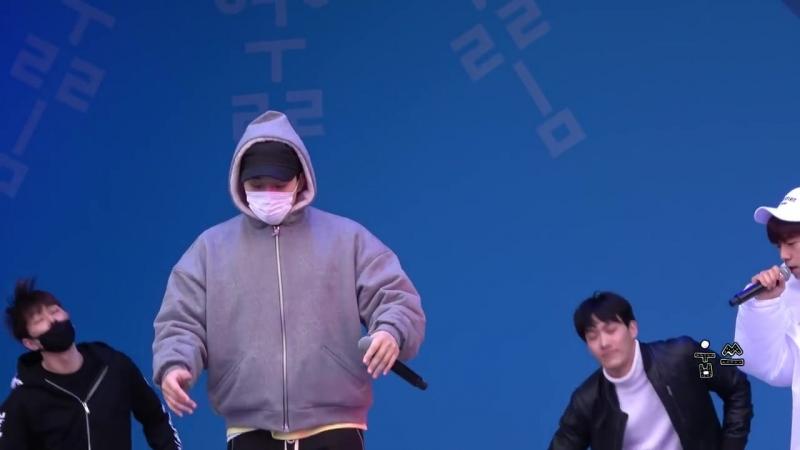 [Фанкам] 180219 2PM - Heartbeat (Фокус на Чансона) @ 2018 PyeongChang Winter Olympic Headliner Show - Rehearsal