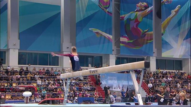 Polina Fedorova BB EF 2018 RUS Nationals