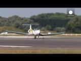 Электрический самолет E-Fan успешно совершил перелет через Ла-Манш