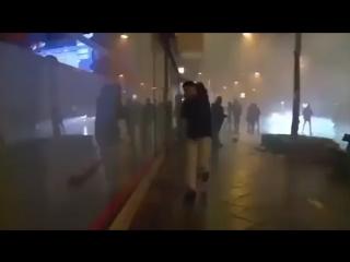 Штурм Берлина в новогоднюю ночь мигрантами