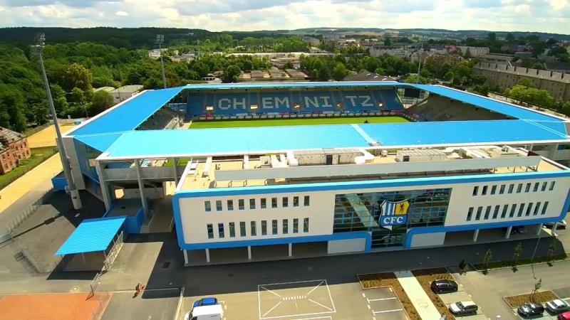 CFC Das Stadion der Himmelblauen...