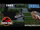 Парк Юрского Периода СЕГА Полное Прохождение игры на SEGA Jurassic Park SEGA Walkthrough 16 bit 1993