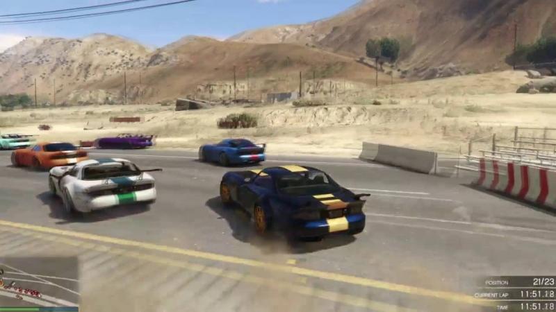 [michiski222] GTA5 Bravado Cup - Return of the Mid-Drive Speed Boost