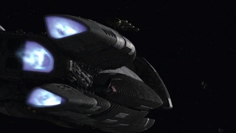 Battlestar Galactica: Epic space fights Battlestar Galactica All Battles scenes