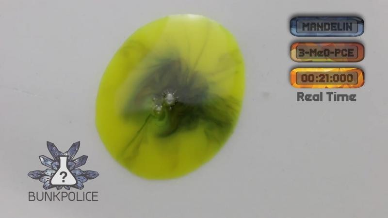 3-MeO-PCE - Mandelin Reagent - Normal Test Kit - Bunk Police