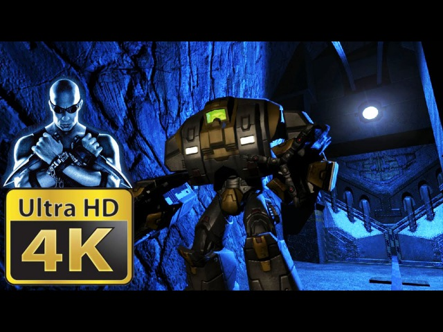 Old Games in 4k : Chronicles of Riddick Escape from Butcher Bay