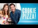 Cookie Pizza Healthy Dessert Recipe ft. Kenny Florian Blogilates
