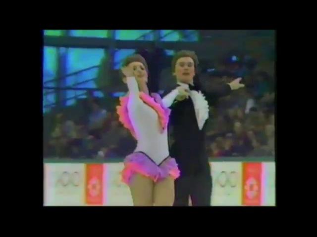 Klimova Ponomarenko, CD Rhumba, Olys, 1984. Климова Пономаренко, ОТТ Румба, ОИ, 1984.