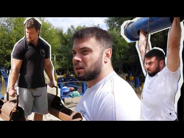 Weightlifting Strongman - [ENG SUB] - TOROKHTIY KONYUSHOK / Гидропарк перезагрузка