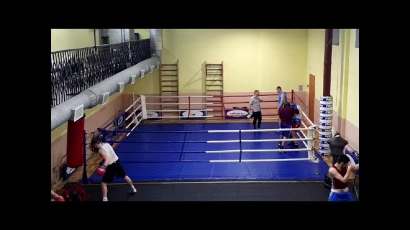 Тренировка у ЗТР Исаева Н П