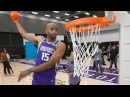 Billups Wants To See Vince Carter In 2018 Dunk Contest 40 Yrs Old VC Warm up Dunks Compilation