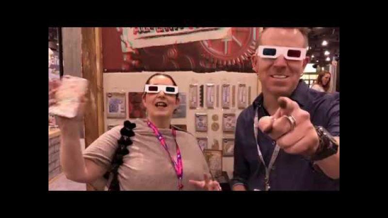 Tim Holtz Tour of Sizzix - Creativation 2018