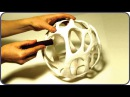 ❣AWESOME DIY Cellular Organic Lampshade Without A 3D Printer❣