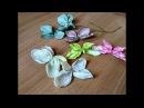 Цветы своими руками быстро и бюджетно Тканевые гортензии Польские орхидеи