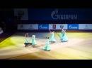 Показательные выступления на Гран При по художественной гимнастике Москва 2014