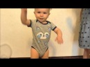 Baby Dancing from Crazy Frog Funny Baby compilation