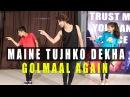 Maine Tujhko Dekha Dance Choreography | Golmaal Again | Vicky Patel Tutorial | Bollywood Hiphop