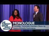 Comedian Yamaneika Saunders Clears Up Santa's Ethnicity Controversy - Monologue