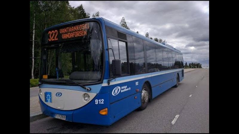 The Sexy Beast 3 - Scania K230UB Lahti Scala (ZF) Helsingin Bussiliikenne 912
