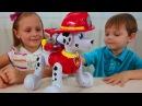 ЗУМЕР МАРШАЛ интерактивная игрушка Щенячий Патруль Распаковка и обзор Zoomer Marshal Paw Patrol