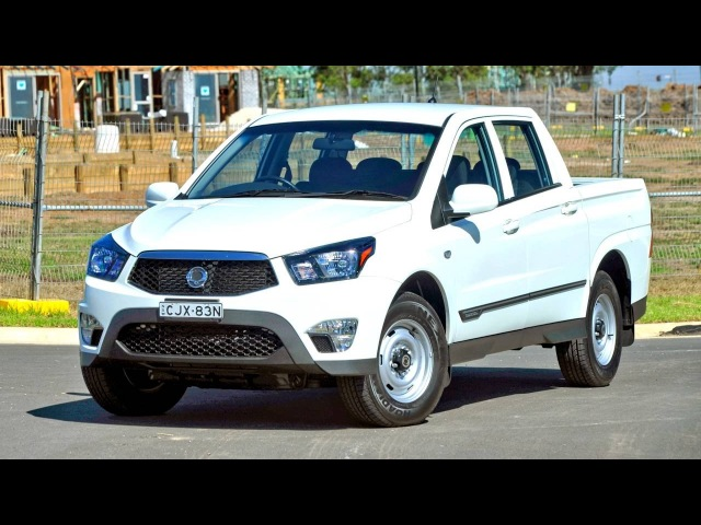 SsangYong Actyon Sports Tradie '2012