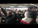 ULTRAS PSG mettent ambiance dans Metro de MADRID AVANT REAL MADRID PSG LIGUE DES CHAMPIONS CHAMPION