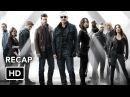 Краткое повторение всех пяти сезонов сериала «Агенты Щ.И.Т.»