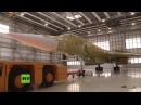 Russland enthüllt neu gebauten strategischen Überschall-Bomber Tu-160M2