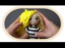 7 ошибок при вязании кукол. 7 mistakes in crochet dolls.