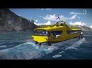 Скоростное пассажирское судно «Комета 120М» испытают на туристах