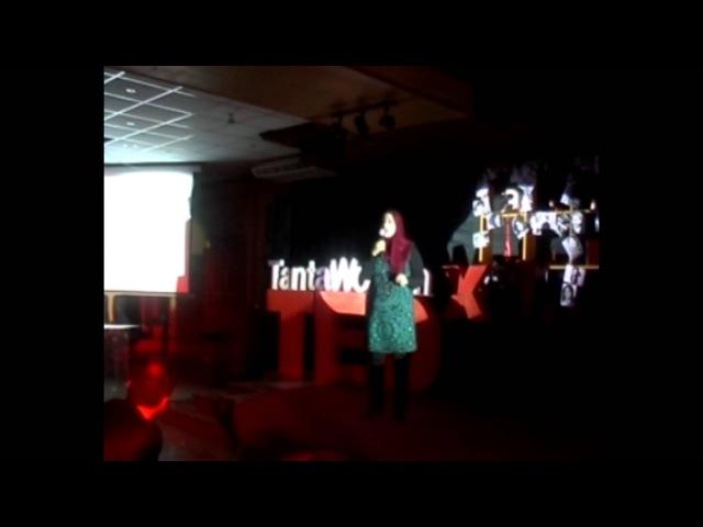 Women in caricature: Doaa Eladl at TEDxTantaWomen
