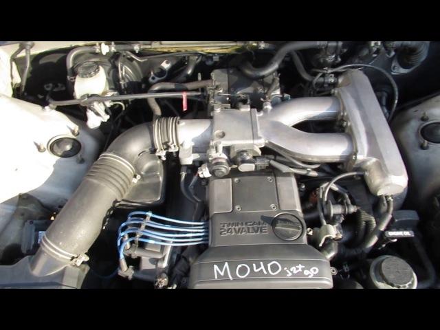 Запуск ДВС 1JZ-GE Toyota Mark2 JZX90 [M040]