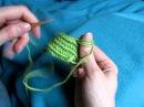 Left handed Finnish Stitch 2 2 suomeksi 2 2 vasenkätinen Nalbinding Neulakinnas