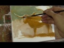 Long Horn Cow REALTIME DEMO Oil Painting in a fast style