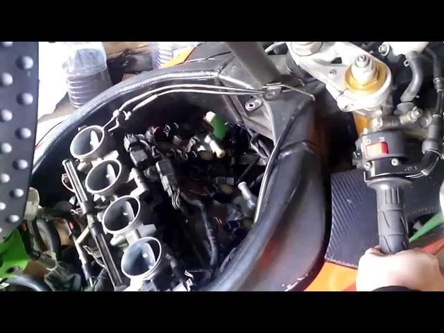 Работа двигателя при забитом топливном фильтре