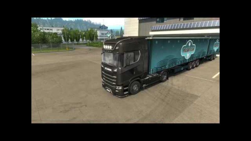 Euro Truck Simulator 2 MP [Катаем скандинавские сцепки] 18
