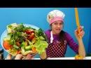 Полен работает поваром - Видео для девочек с Барби