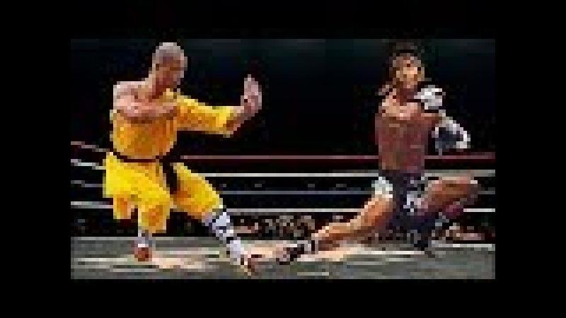Monge Shaolin vs Campeão de Muaythai - BRIGA REAL NUNCA VISTA ANTES !