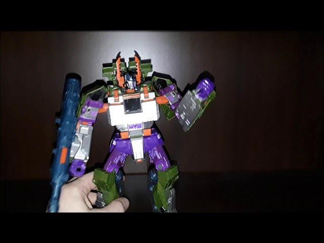 TCW leader ARMADA Megatron (обзор)